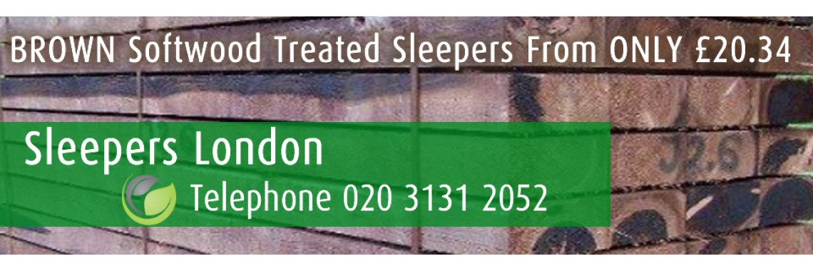 Railway Sleepers London, All Types, Sizes and Length - Fast Delivery